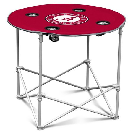 Alabama Portable Round Table by Logo Brands