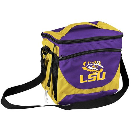 LSU Tigers 24 Can Cooler by Logo Brands