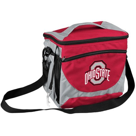 Ohio State Buckeyes 24 Can Cooler by Logo