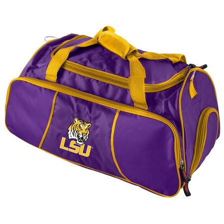 LSU Tigers Duffel Bag By Logo Brands