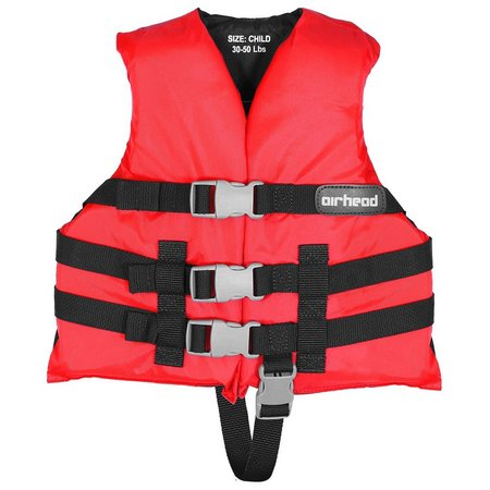 Airhead Nylon Child Open Side Life Vest