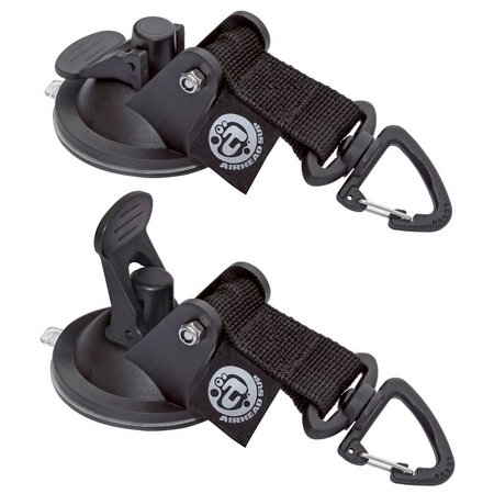 Airhead 2-pk. Suction Cup Tie Downs