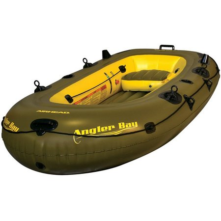 Airhead Angler Bay Four Person Inflatable Boat