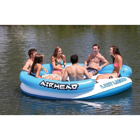Airhead Lazy Lagoon Floating Island Water Lounger