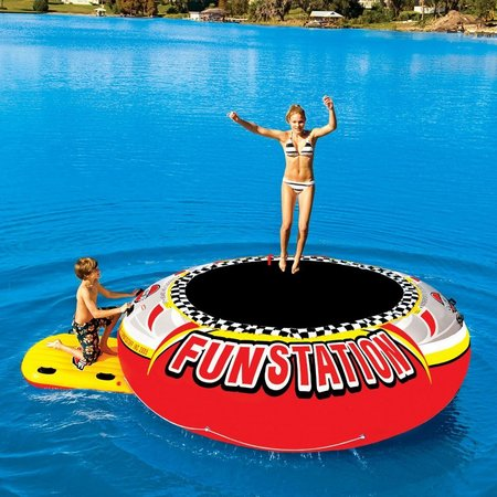 Sportsstuff 12' Funstation Inflatable Trampoline