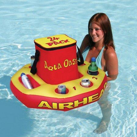 Airhead Aqua Oasis Inflatable Floating Cooler