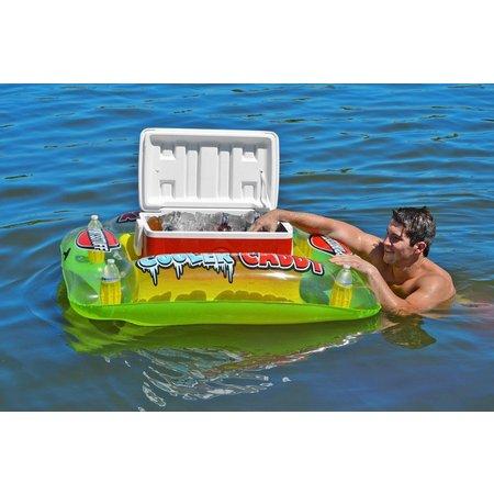 Sportsstuff Cooler Caddy Inflatable Cooler Float