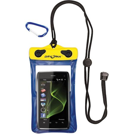 Dry Pak 4'' x 6'' Yellow/Blue Cell Phone