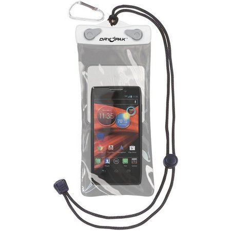 Dry Pak 4'' x 8'' White/Grey Cell Phone