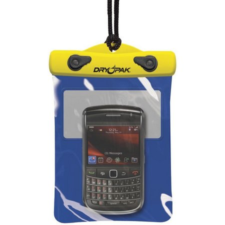 Dry Pak 5'' x 6'' Yellow/Blue Cell Phone