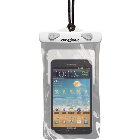Dry Pak 5'' x 8'' White/Grey Cell Phone