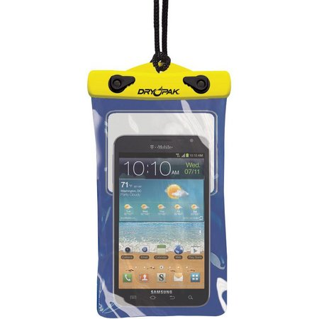 Dry Pak 5'' x 8'' Yellow/Blue Cell Phone