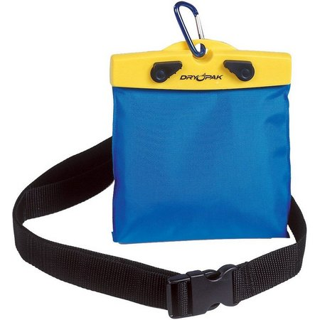 Dry Pak Yellow/Blue Nylon Belt Pack
