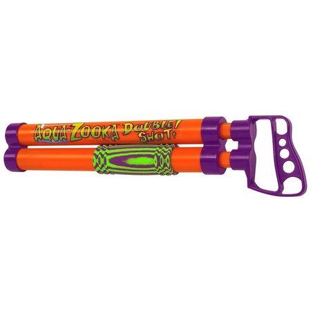 Aqua Zooka 18 in. Double Shot Squirt Gun