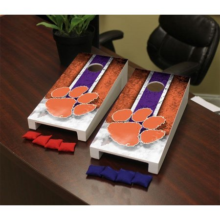 Clemson Tigers Mini Cornhole Game Set