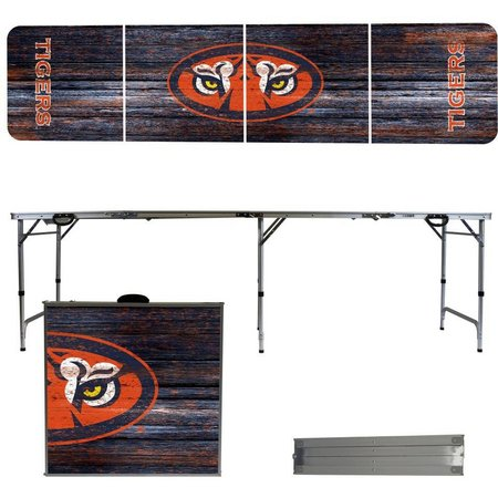 Auburn Tigers Weathered Folding Tailgate Table