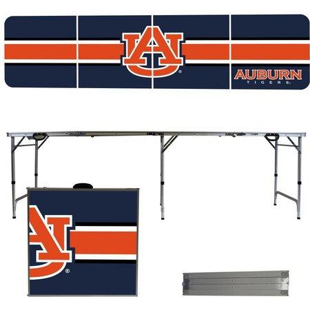Auburn Tigers Team Stripe Folding Tailgate Table