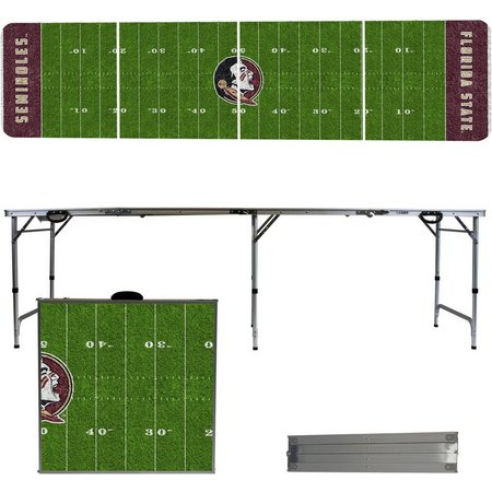 Florida State Football Field Folding Table