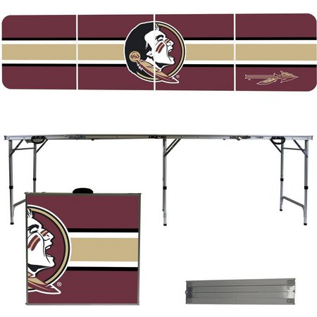 Florida State Team Stripe Folding Tailgate Table