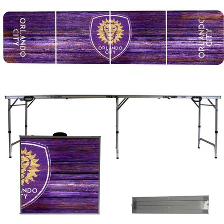 Orlando City Weathered Folding Tailgate Table