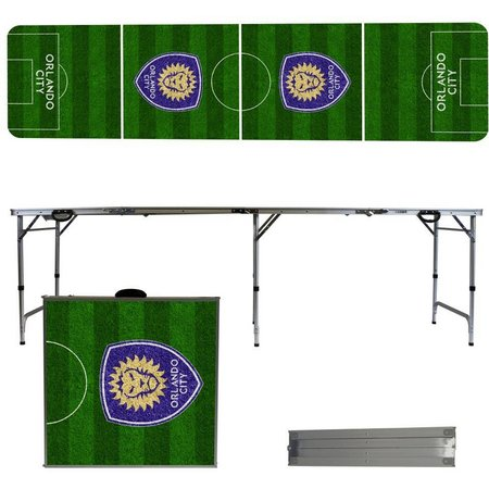 Orlando City Soccer Field Folding Tailgate Table