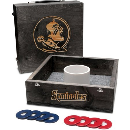 Florida State Onyx Stained Washer Toss Game Set