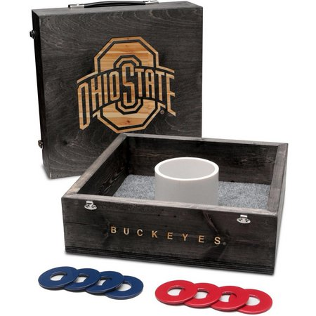Ohio State Onyx Stained Washer Toss Game Set