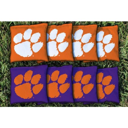 Clemson 8-pc. Corn Filled Cornhole Bag Set