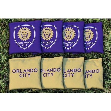Orlando City 8-pc. Corn Filled Cornhole Bag Set
