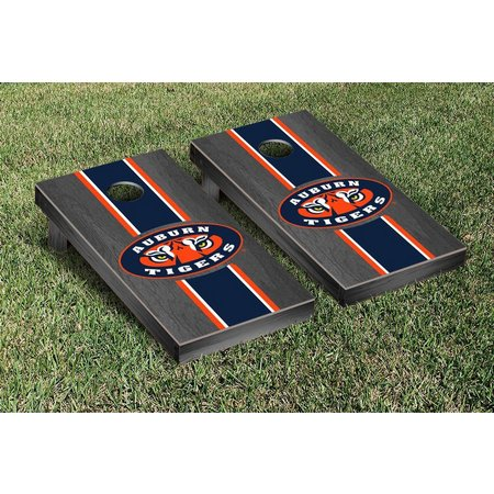Auburn Tigers Onyx Stained Cornhole Game Set