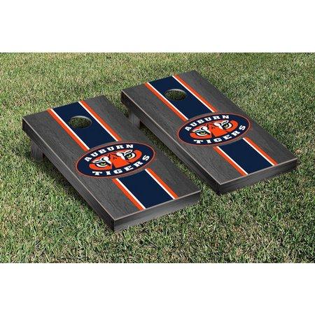 Auburn Tigers Onyx Stained Cornhole Game Set