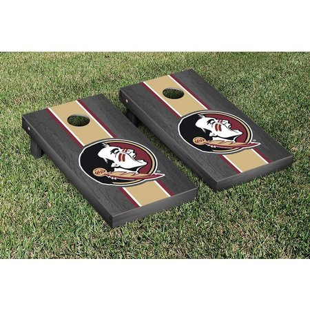 Florida State Onyx Stained Cornhole Game Set