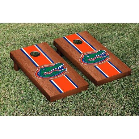 Florida Gators Rosewood Stripe Cornhole Game Set