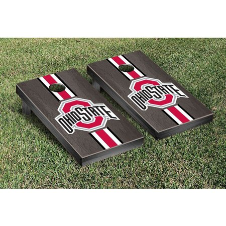 Ohio State Onyx Stained Cornhole Game Set
