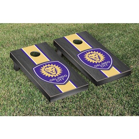 Orlando City Onyx Stained Cornhole Game Set