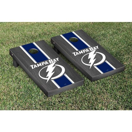 Tampa Bay Lightning Onyx Stained Cornhole Game Set