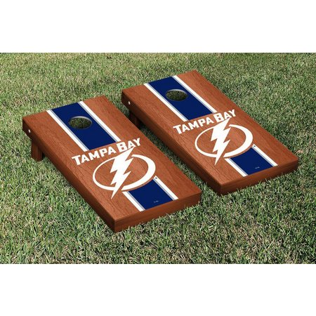 Tampa Bay Lightning Rosewood Cornhole Game Set