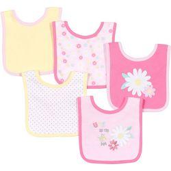 New! Baby Gear Baby Girls 5-pk. Cute As
