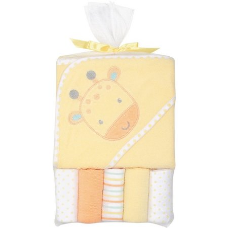 Baby Essentials 6-pc. Giraffe Bath Set