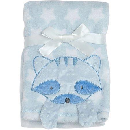 Baby Gear Baby Boys Raccoon Crinkle Blanket