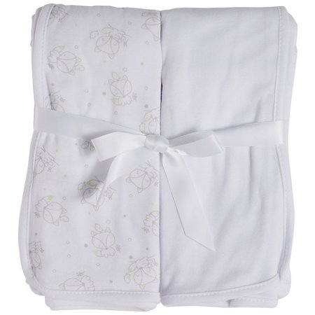 Mary Jane & Buster 2-pk. Fox Swaddle Blankets
