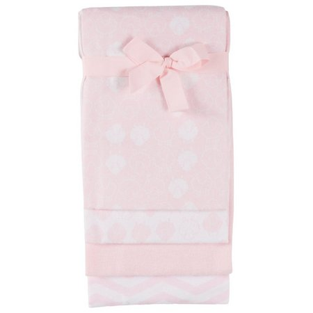 Mary Jane & Buster 4-pk. Sheep Receiving Blankets
