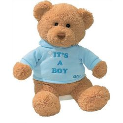 Gund It's A Boy Bear Plush Toy