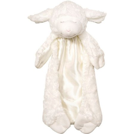Gund Winky Lamb Huggybuddy Plush Blanket Toy