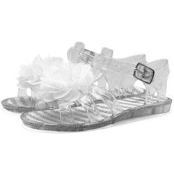 Stepping Stones Baby Girls Glitter Flower Sandals