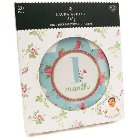 Laura Ashley Milestone Numbers Belly Stickers