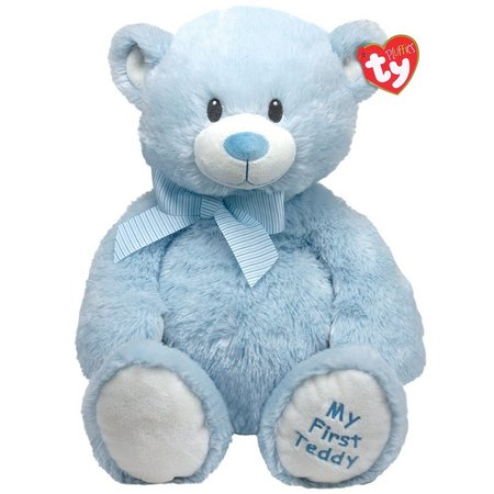 TY Blue My First Teddy