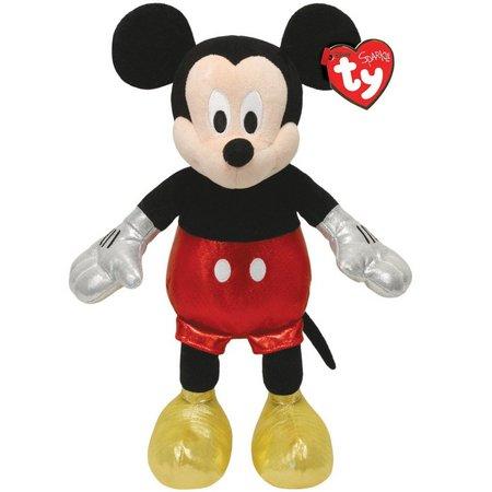 Disney TY Mickey Mouse Sparkle Beanie Buddy