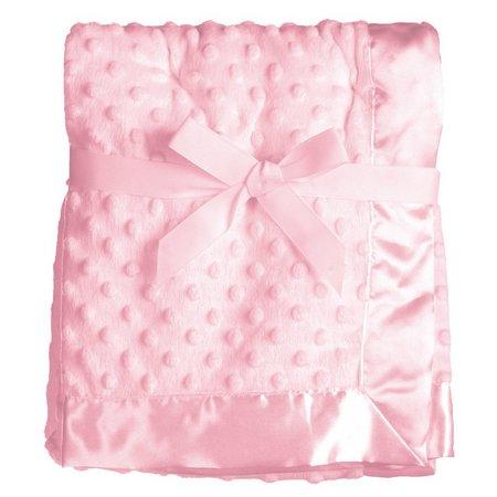 Baby Starters Satin Trim Cuddly Baby Blanket