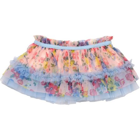 Baby Starters Baby Girls Floral Tutu Skirt